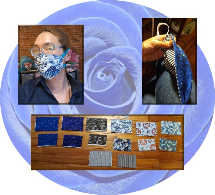 Head Seamstress/Designer at Aurora Clothiers by Allengale Livestreams DIY Mask Pattern from Deaconess Hospital