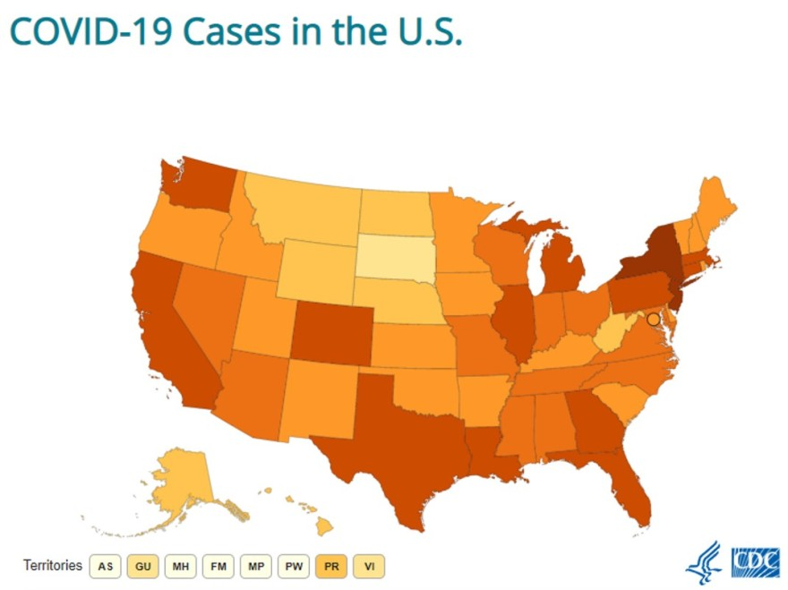 COVID-19 Cases US